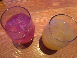 2種類の飲み物