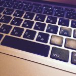 ノートPCのキーボード
